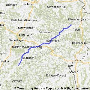 Abtsgmünd - Mössingen CLONED FROM ROUTE 800480