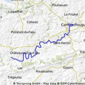 jour 5 - Carhaix Plouguer / Saint Thois