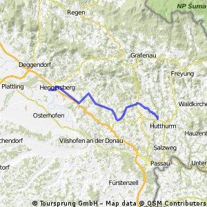 Donau Ilz Bahntrassenweg CLONED FROM ROUTE 70450