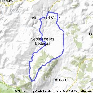 Alcala - Setenil - Prados - Alcala
