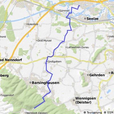 Garbsen zum Nienstedter Pass (Deister)