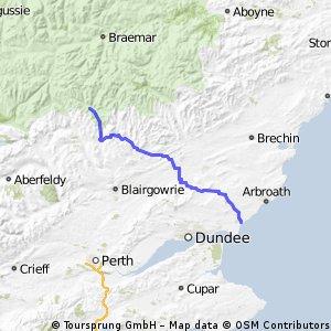 Tag 11: Spittal of Glenshee - Carnoustie