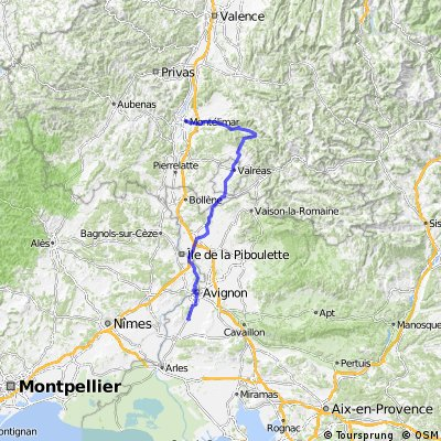 Montélimar - Poët Laval - Graveson