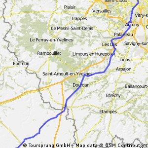 Paris - Voves 21/07/12