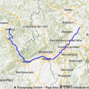 Die Drei-Flüssetour