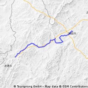4.Tag Lingyuan-Chaoyang 121 km