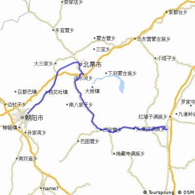 5Tag V1 Chaoyang-Yixian 121 km