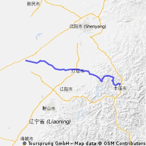 7.Tag Liaozhong-Benxi 116 km