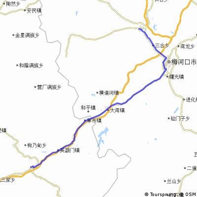 10.Tag Qingyuan-Dongfeng 113 km