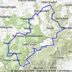 Heidersdorf-Frauenstein-Altenberg