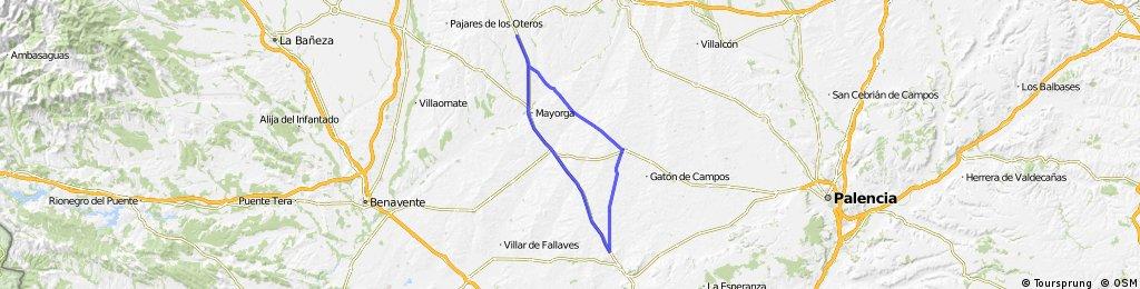 Mayorga - Medina de Rioseco - Villalon - Valverde - Mayorga