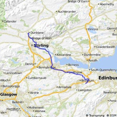 Ratho Stn to Dunblane Scotland
