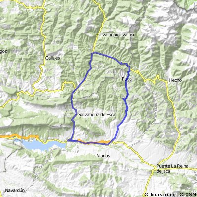 Garde-Ansó-Villareal-Sigüés-Burgi-Ansó