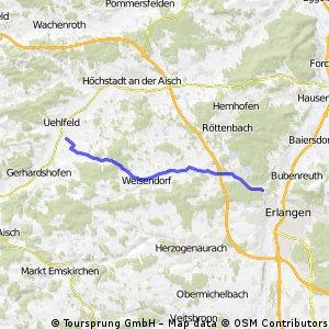 von Demantsfürth zum Kanal