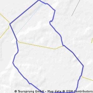 Nieliska trasa leśno Wieprzowa