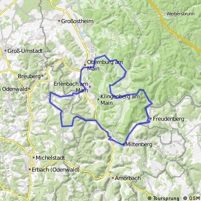 Ironman 70.3 Vorbereitung: Odenwald vs. Süüdspessart - Großheubach