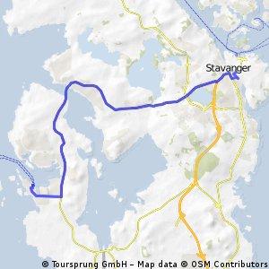 Stavanger (Hirtshalsfærgen til Stavanger bed and breakfast