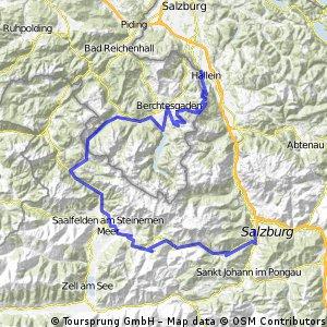 Watzmann - Hochkönig (3 Tages MTB-Tour)
