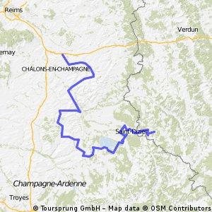 Tdf Stage 6: Saint-EtIenne-au-Temple -Cousancelles