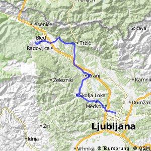 SLOVENIA 2012.07.19. Ljubljana - Bled