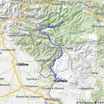 SLOVENIA 2012.07.24. Trenta - Nova Gorica
