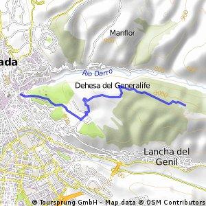 Granada Llano de la Perdiz
