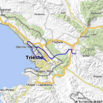 SLOVENIA-ITALY 2012.07.26. Trieste - Skocjan - Trieste
