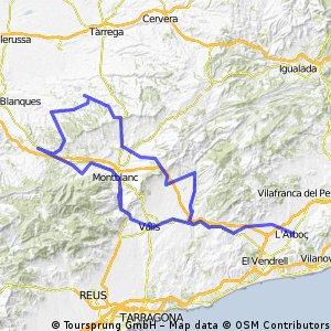 Arboç 3 monestirs STC, Vallbona, P, Arboç