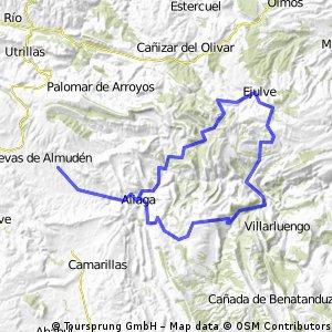 Jarque de la Val - Ejulve (Vuelta por Pitarque)