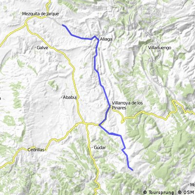 Jarque de la Val - Valdelinares (Ida y vuelta)