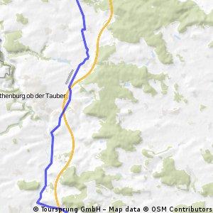 Schillingsfürst - Burgbernheim