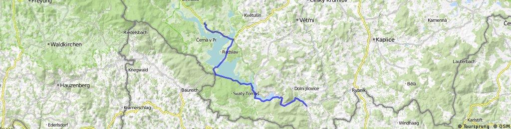 Vyšší Brod - Horní Planá