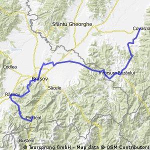 Tura de munte PREDEAL-RASNOV-BRASOV-COVASNA