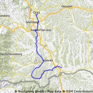 Graz - Gamlitz - Seibersdorf