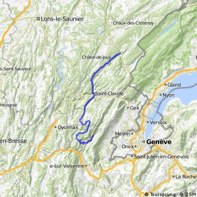Dag 04 Etappe 2: Chézery-Forens - Morbier