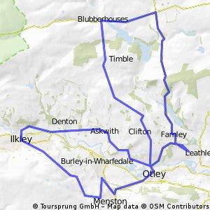 Farnley - Otley - Ilkley