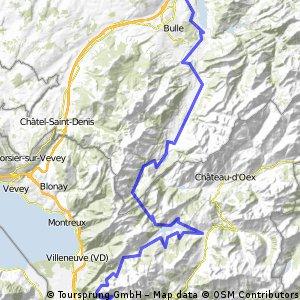 Dag 10 Etappe 5: Gumefens - Aigle