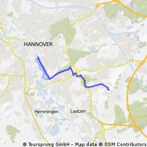 Kronsberg - Maschsee  Nordufer
