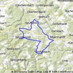 Wüstenrot-Mainhardt-Wüstenrot