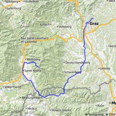 ОСтриЯ. Stage 3.1. Graz - Grosser Speikkogel