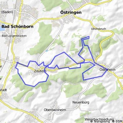 Hohlwege Zeutern-Odenheim Teil 1