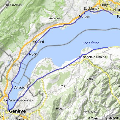 Lac Leman T1 - Lausanne Evian CLONED FROM ROUTE 898