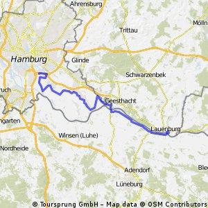 Radtour 2008 DD-HH