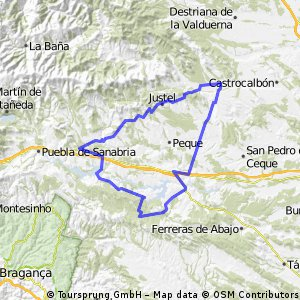 BOYA-CODESAL-SANDIN-N525-PALACIOS-ANTA DE RIOCONEJOS-CARBAJALES DE LA ENCOMIENDA-ESPADAÑEDO-MUELAS DE LOS CABALLEROS-CASTROCONTRIGO-NOGAREJAS-CUBO DE BENAVENTE-