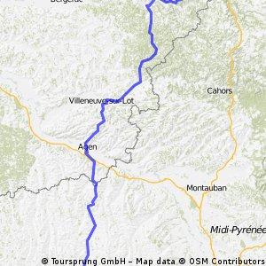 France Ultime : Sarlat-la-Canéda - Auch