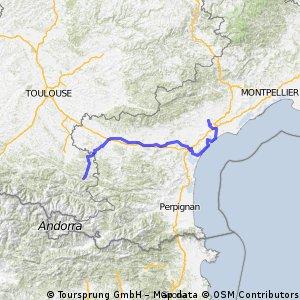 France Ultime : Lavelanet - Béziers