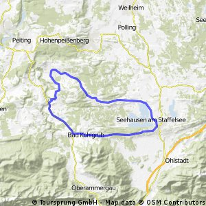 Staffelsee Bad Kohlgrub Schönberg Böbing Runde
