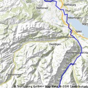 Adelboden-Schwarzenburg - Circus Monti Verschiebung