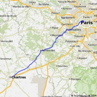 London to Paris - Day 4 CLONED FROM ROUTE 624478