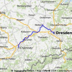 Chemnitz Hbf -Meißen-DD Hbf